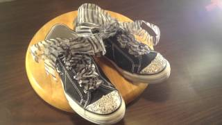 Converse shoes size 8 Custom for sale $25.00 new Ebay