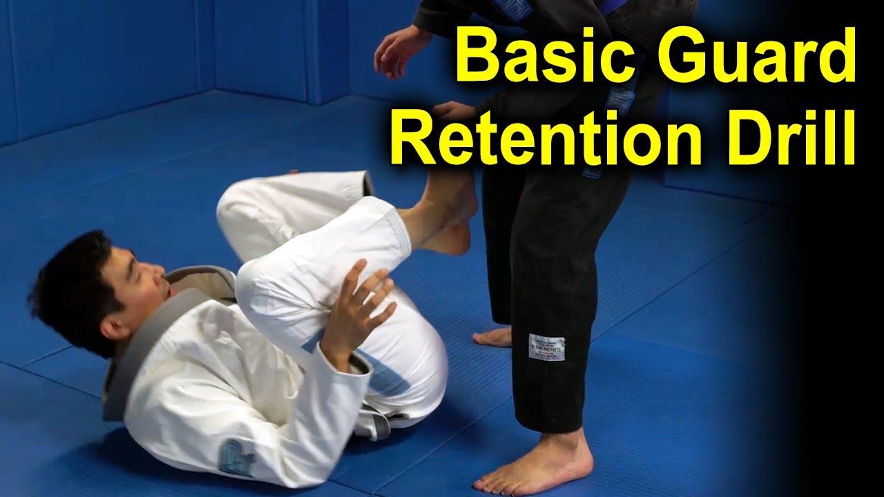 BJJ Drills: Basic Guard Retention Drill