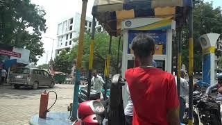 Royalty Free Video Footage | Petrol Pump Bharat Ranigunj
