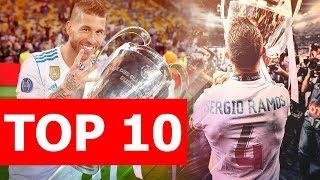 Top 10 điều thú vị về Sergio Ramos