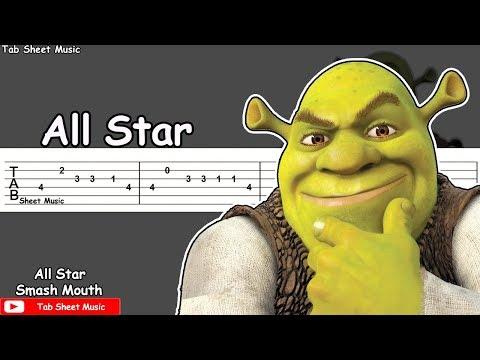 Smash Mouth - All Star (Shrek Theme) Guitar Tutorial