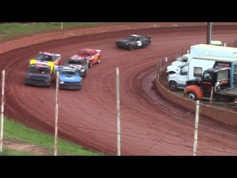 Winder Barrow Speedway Modified Street Feature Race 4/16/16