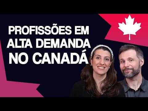 Trabalhos em ALTA DEMANDA no CANADÁ em 2021 (incluindo salários) 🇨🇦