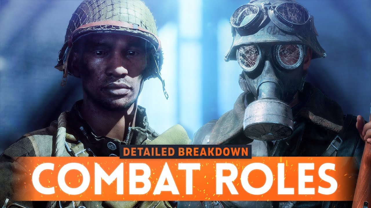 BATTLEFIELD 5 COMBAT ROLES EXPLAINED! - What Are They & How Do They Work? (BF5 Class Guide)