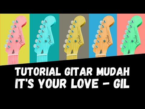 chord gitar guitar chord kunci gitar it 39 s your love gil youtube. Black Bedroom Furniture Sets. Home Design Ideas