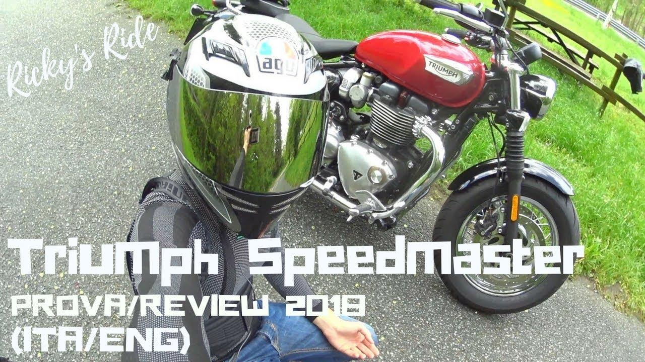 Nuova Triumph Bonneville Speedmaster 2018 Prova Review Itaeng