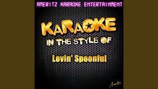 Daydream (In the Style of Lovin' Spoonful) (Karaoke Version)