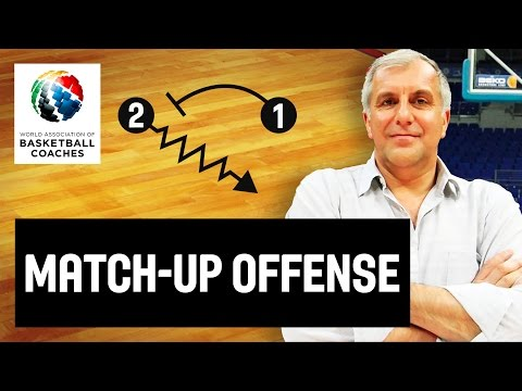 Match-Up Offense - Željko Obradović - Basketball Fundamentals