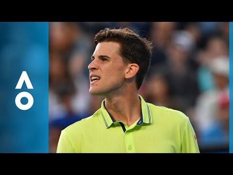 Textbook tweener from Thiem | Australian Open 2018
