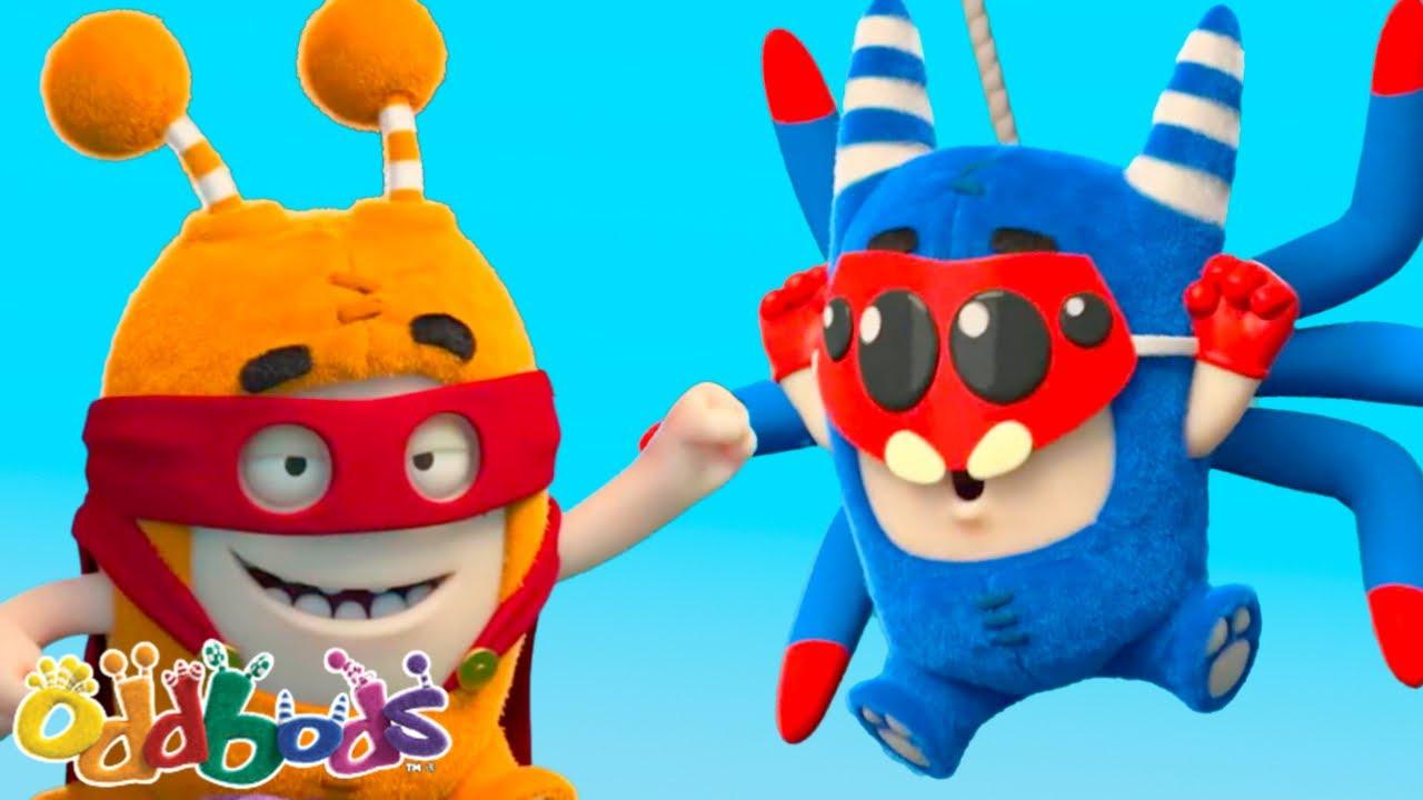 SUPER ODDBODS ARE BACK | Oddbods | NEW | Cartoons For Kids