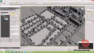 Уроки 3ds max. Создание города с помощью gHostTown elite.