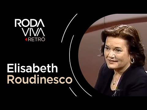 Roda Viva | Elisabeth Roudinesco | 1999 - Dauer: 1 Stunde, 35 Minuten