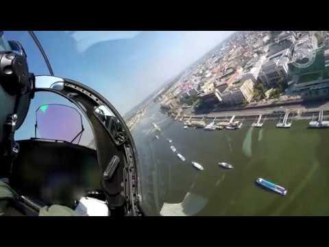 Gripenek Díszelgő Repülése Az államalapítás ünnepén