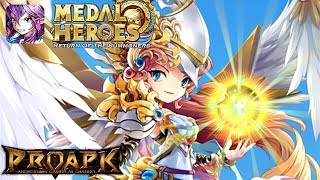 Medal Heroes: Return of the Summoners Gameplay Android / iOS