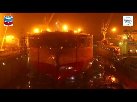 Crude Oil Tanker Repair TimeLapse