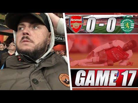 Arsenal 0 vs 0 Sporting Lisbon - Gutted For Danny Welbeck - Matchday Vlog