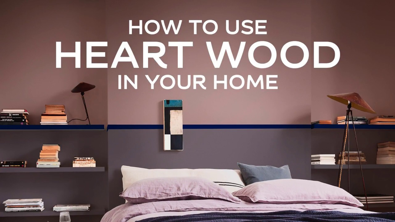How To Use Dulux Colour Of The Year 2018 Heart Wood In Your Home