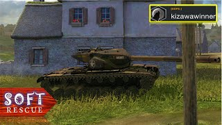 T57 Heavy: 6100 Damage , 3 Frags - WOT BLITZ - screenshot 5