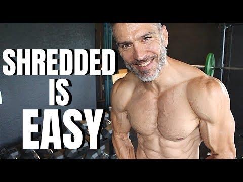 How To Get Shredded Easy Steps