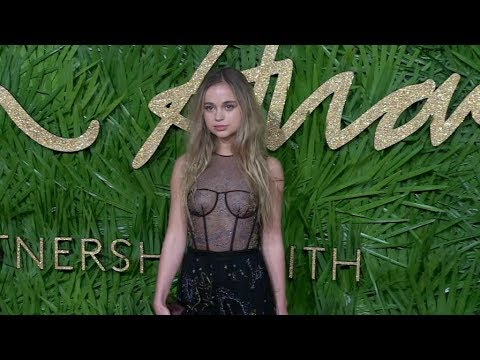 Lady Amelia Windsor and more on the red carpet for the The Fashion Awards 2017