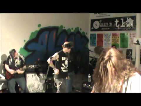 UNSIGNED METAL BAND DESTROYS CD STORE!!