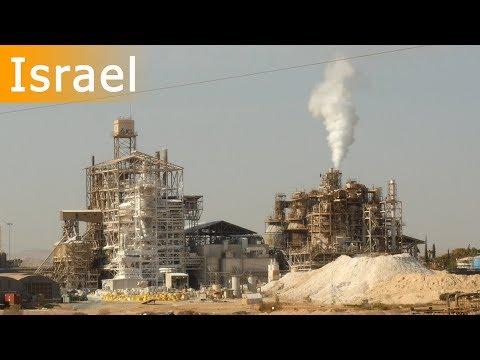 Factory In The Desert Of Israel