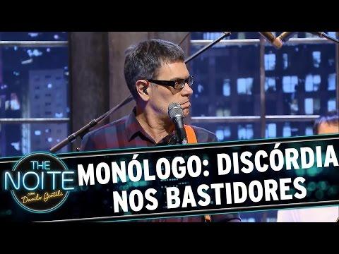 The Noite (03/09/15) - Monólogo: Discórdia No Palco Do Programa