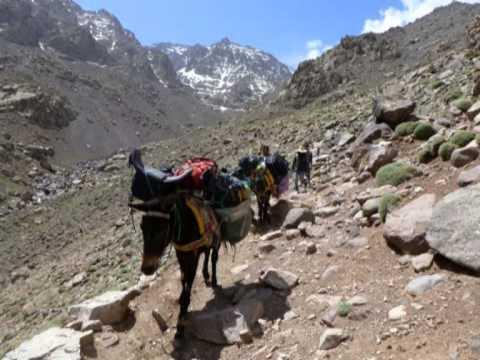 MAROKO, Jebel Toubkal - 4167 - Bardzo przyjemna górka