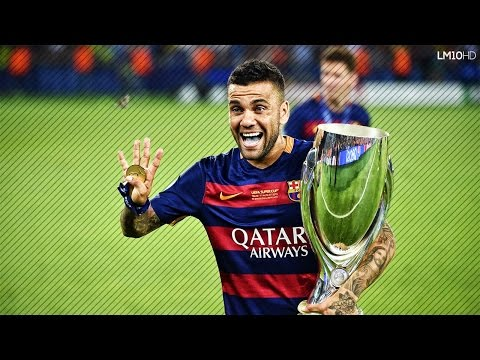 Dani Alves Tribute ● Barcelona's Greatest Right-Back Ever | HD