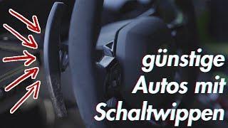 Die günstigsten Autos mit Schaltwippen | RB Engineering | VW Golf GTI