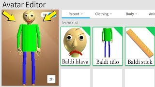 HOW TO LOOK LIKE BALDI's BASICS in ROBLOX!!