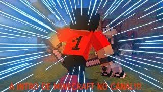 INTRO DE MINECRAFT DO CANAL!!!