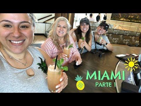 VLOG   Miami Parte 1   Viaje de Chicas