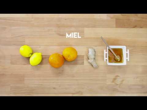 zumo de naranja mandarina y limon