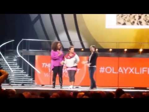 On Stage with Oprah  San Jose, CA  November 2014