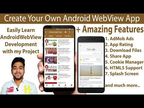 Android WebView with Lots of Amazing Features for YouTuber