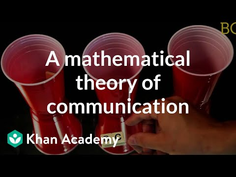 A Mathematical Theory Of Communication | Computer Science | Khan Academy