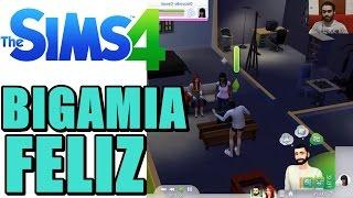 The Sims 4 (Parte 11) - Promoção e Um Triângulo Amoroso Feliz