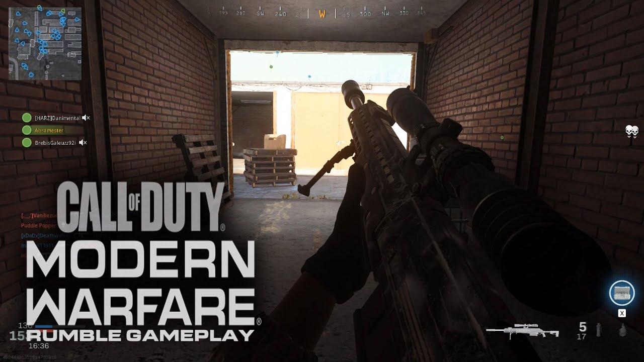 Warzone Rumble Gameplay - Call of Duty: Modern Warfare