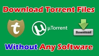 how to download torrent file without software in tamil| seedr