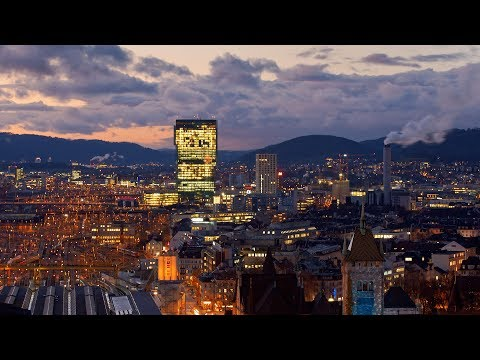 Timelapse: Helvetia by Night - FRENETIC ZURICH - Switzerland