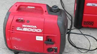 Review CPE Generator 2000 watt inverter VS Honda EU2000i