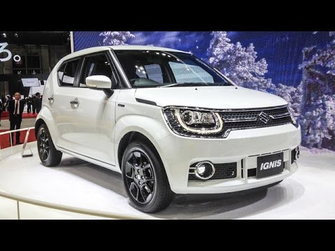 new maruti suzuki ignis compact suv details out youtube. Black Bedroom Furniture Sets. Home Design Ideas