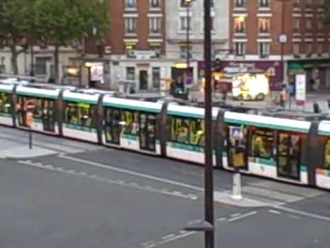 Paris tramway porte d 39 orleans youtube - Porte de orleans ...