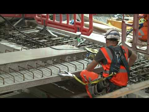 Crossrail Stations: Platforms complete at Liverpool Street