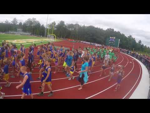 2017-08-12 Maine USATF State Youth Championships ~ Parade of the Team