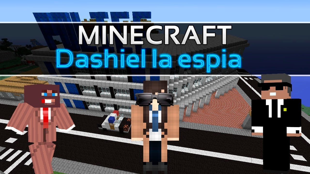 Download Dashiel la espía | Minecraft mapa suscriptores
