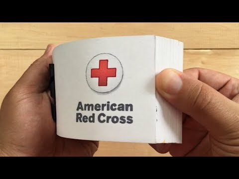 American Red Cross Flipbook: 'Sound The Alarm'