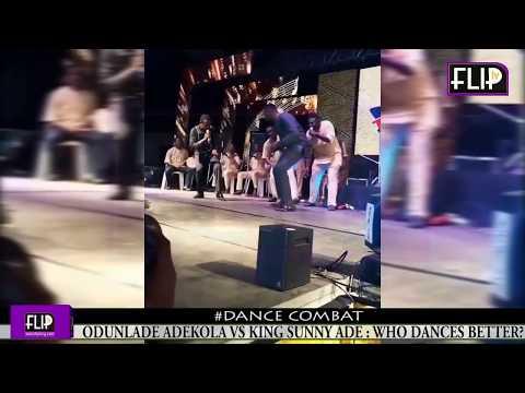 ODUNLADE ADEKOLA VS KING SUNNY ADE: WHO DANCES BETTER?