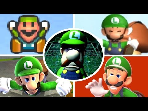 Thumbnail: Evolution of Luigi Deaths and Game Over Screens (1983-2017)